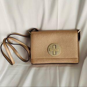 Kate Spade Silver/Pink Leather Slim Crossbody Bags